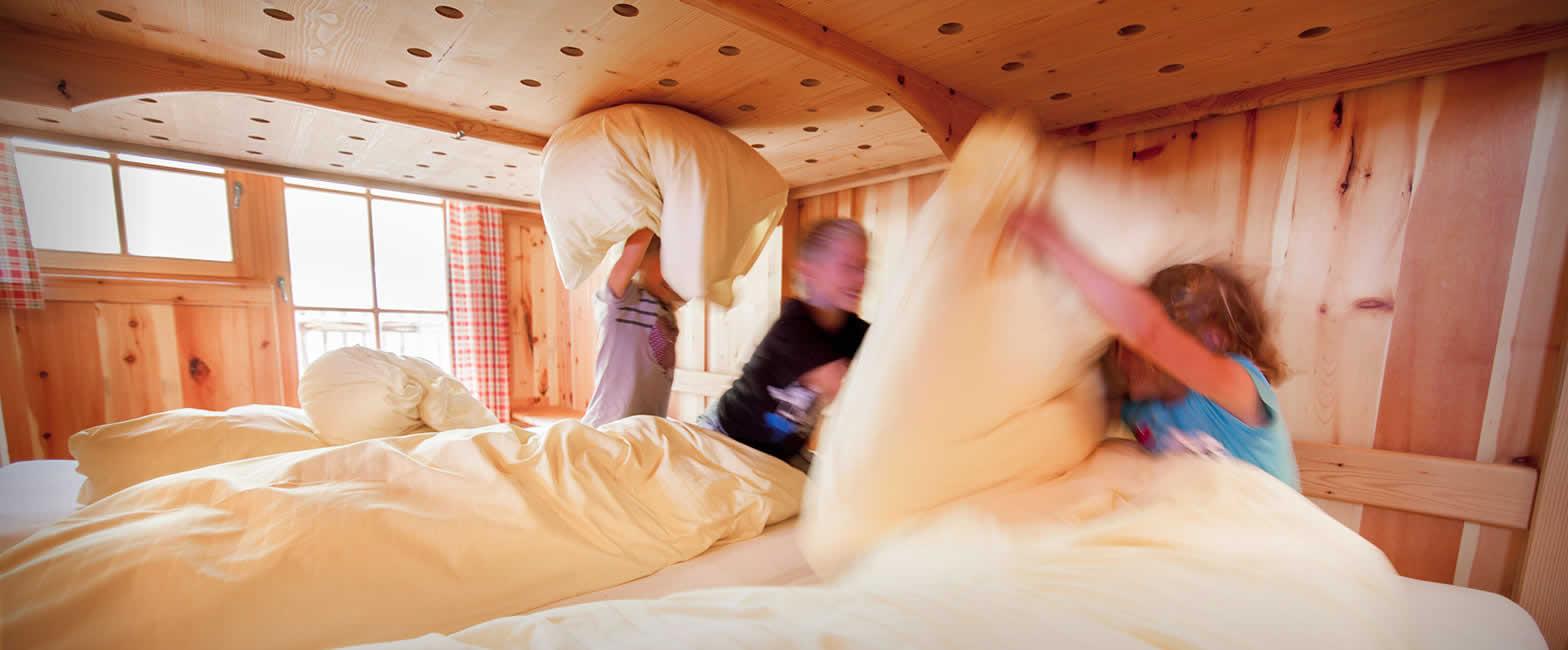 Alm-Zimmer auf der Loosbühelalm in Großarl, Großarltal, Salzburger Land - Urlaub auf der Alm