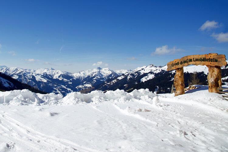 Ausflugsziel im Großarltal, Salzburger Land - Loosbühelalm