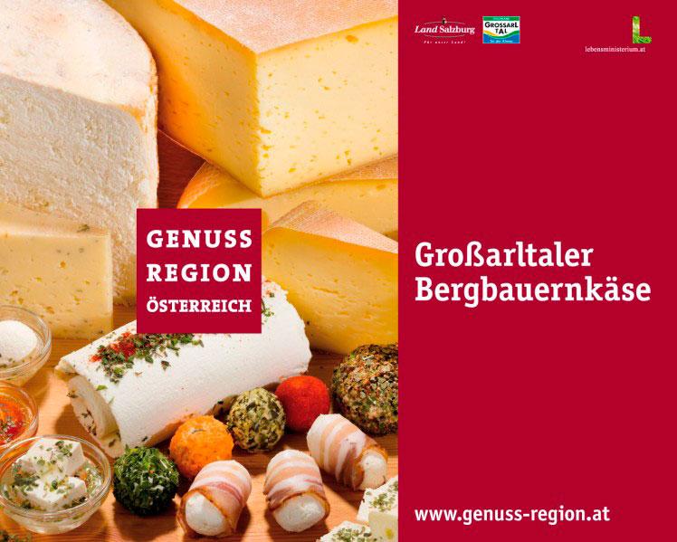 Produzent des Großarler Bergbauernkäse, GenussRegion Österreich