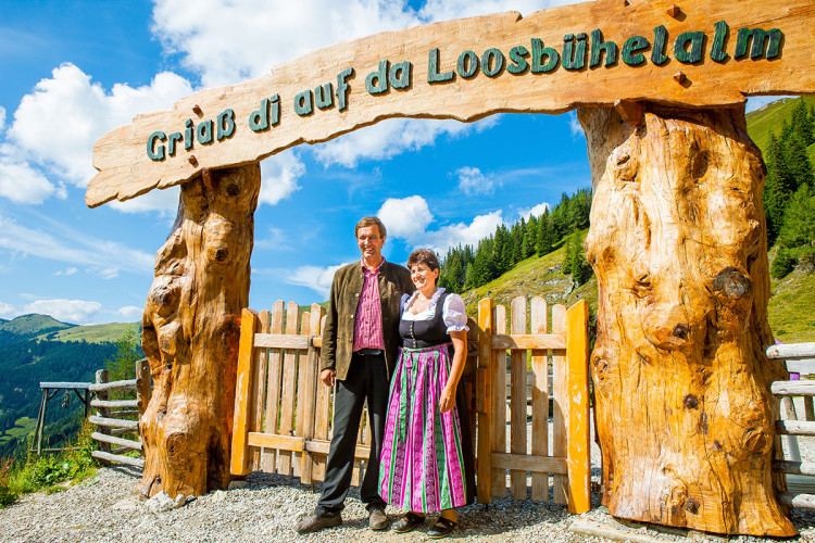 Hüttenurlaub, Ausflugsziel Loosbühelalm, Großarltal